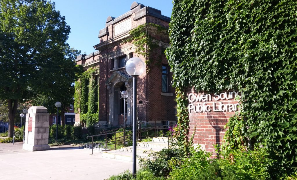 Owen Sound & North Grey Union Public Library in Owen Sound ~ Lori Twining
